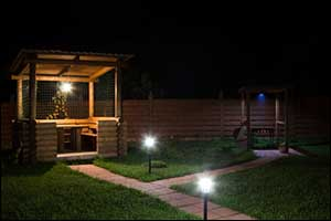 Boston Outdoor Lighting for Grill